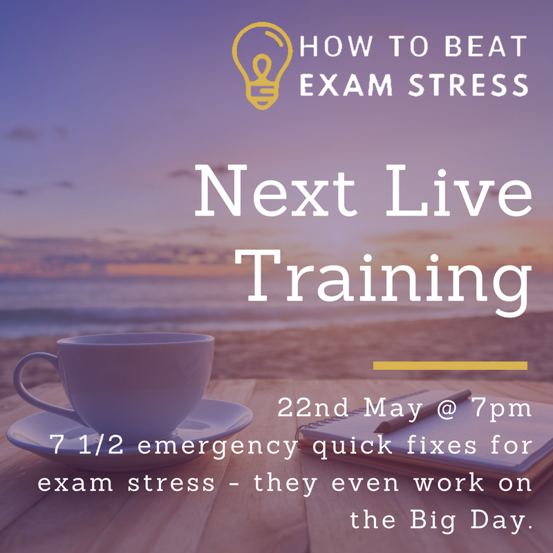 Beat Exam Stress Next Live Training